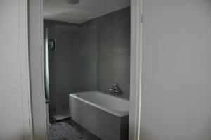 Badkamer na de renovatie